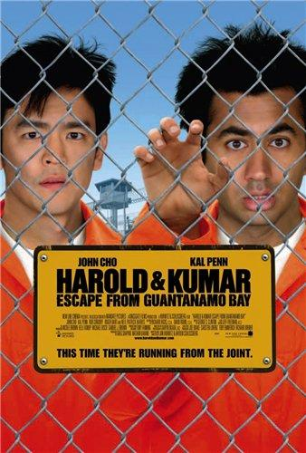 Гарольд и Кумар 2 /Harold & Kumar Escape from Guantanamo Bay/